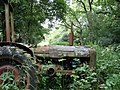 A superannuated Fordson Super Major at the end of the lane - geograph.org.uk - 515562.jpg