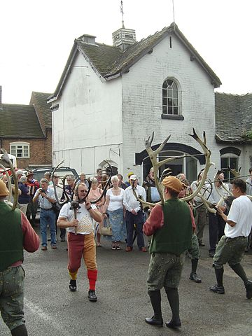 Abbots Bromley Horn Dance in Abbots Bromley