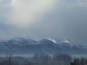 Abbottabad - A shot during winter 2012.