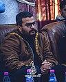 Abderrahmane Gaouda dans le café litéraire CLS Batna - 16.01.2020.jpg