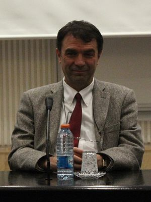 Abdullah Atalar - Atalar during a conference in Bilkent University.