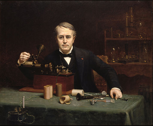Abraham Archibald Anderson - Thomas Alva Edison - Google Art Project
