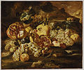 Abraham Brueghel - Pomegranates and Other Fruit in a Landscape.jpg