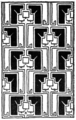 Abstract repeating design 48 by Ernest A Batchelder.png