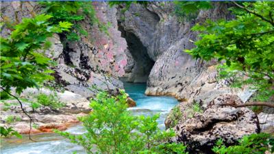 Acheron River's Canyon