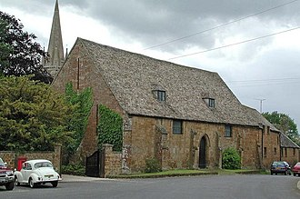 Adderbury - New College tithe barn: 14th or early 15th century