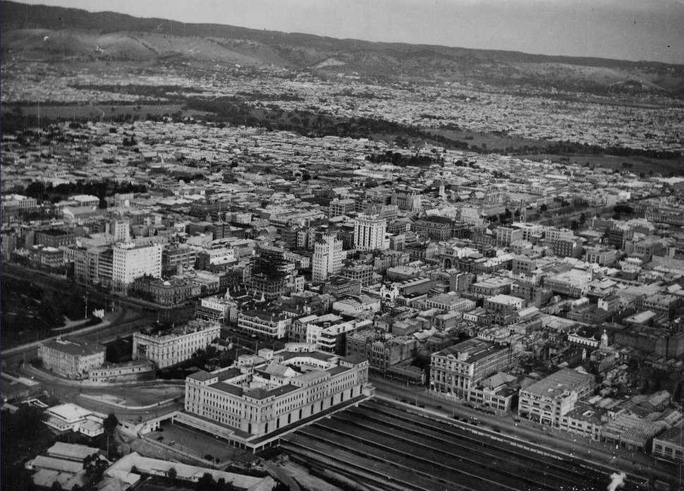 Adelaide in 1935