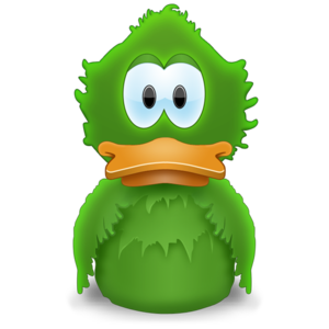 Adium icon, also known as the Evil Menu Duck (EMD)