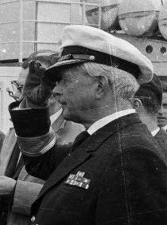 Hans-Rudolf Rösing - Konteradmiral Hans-Rudolf Rösing (1963)