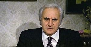 Adolfo Celi nel ruolo del professor Sassaroli in Amici miei (1975).