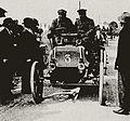 Adolphe Clément-Bayard sur Panhard du Prince Orloff, vainqueur du troisième Prix d'Amsterdam en 1898.jpg