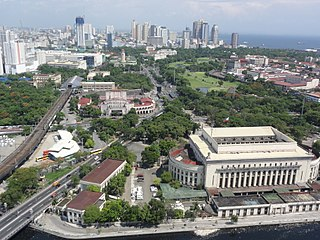 Ermita District of Manila in National Capital Region, Philippines