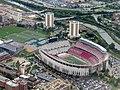 Aerial view of Ohio Stadium and surroundings, September 2018.JPG