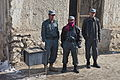 Afghan Uniformed Police officers visit the Afghan Uniformed Police prison in Pul-e Alam district, Logar province, Afghanistan, Jan. 28, 2012 120128-A-BZ540-090.jpg