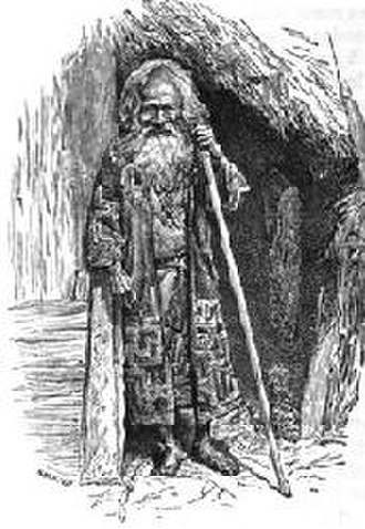 David MacRitchie - Illustration of a short-statured Ainu from David MacRitchie's The Testimony of Tradition (1890). MacRitchie believed the native inhabitants of Britain looked similar.