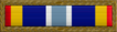 Air Force Expeditionary Service Ribbon with gold frame
