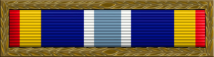L. Scott Rice - Image: Air Force Expeditionary Service Ribbon with gold frame