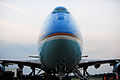 Air Force One sits on the flight line at RAF Fairford, England, Sept 140903-F-UE958-324.jpg