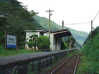 Aki-Kameyama Station (1936–2003)