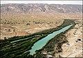 Alamarvdasht River رود علامرودشت در انتهای دشت - panoramio.jpg
