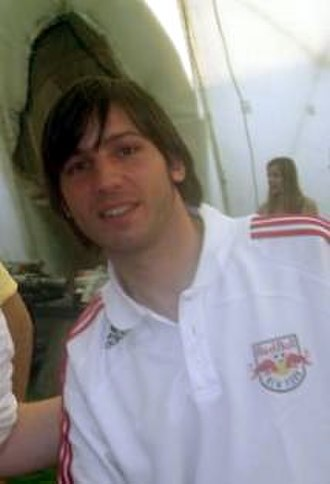 Albert Celades - Celades with the New York Red Bulls in 2009