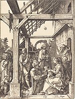 Albrecht Dürer, The Adoration of the Magi, 1511, NGA 6790.jpg