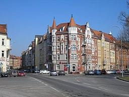 Albrechtstraße in Erfurt
