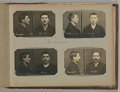 Album of Paris Crime Scenes - Attributed to Alphonse Bertillon. DP263828.jpg