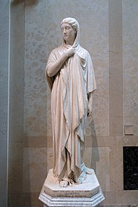 Alcestis by William Wetmore Story, 1874, marble - Wadsworth Atheneum - Hartford, CT - DSC05001.jpg
