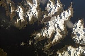 Sedanka Island - NASA photo of Sedanka Island