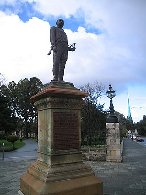 Alexander Forrest - A statue of Forrest stands at the entrance to Stirling Gardens in St Georges Terrace, Perth