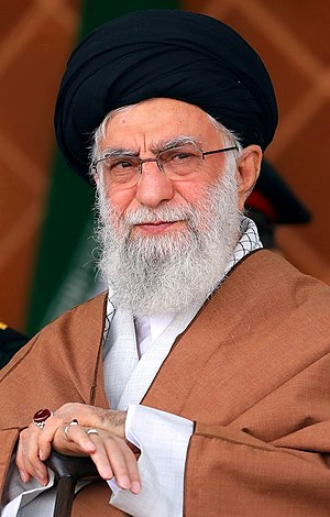 Ali Khamenei at Afsari University 2019 2.jpg