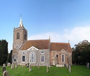 Henry Bell (architect) - All Saint Parish church, North Runcton, Norfolk