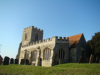 Local ecumenical partnership - All Saints Church, Milton Keynes, is a part of the Watling Valley Ecumenical Partnership between the Anglicans, Baptists, Methodists and United Reformed Church.
