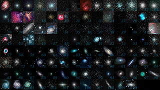 Messier object Astronomical objects catalogued by Charles Messier
