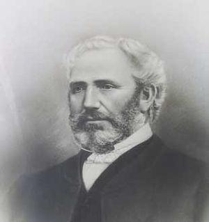 McLean's Mansion - Portrait of Allan McLean.