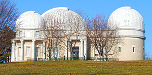 Allegheny Observatory - Image: Allegheny Observatory March 2013