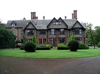 Allesley - Allesley Hall, which has a small golf course in its grounds