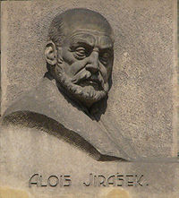 Relief of Alois Jirásek