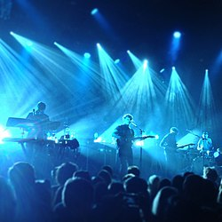 alt-J performing April 2013