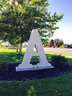 Alta High School (Utah) - Image: Alta High A