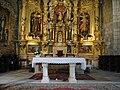 Altar mayor y presbiterio de la iglesia de San Juan de Castrojeriz.JPG
