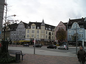 Bottrop - Altmarkt in the city