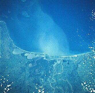 Alvarado (municipality) - Alvarado Lagoon complex and the Papaloapan River.