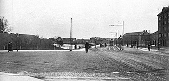Amager Boulevard - Amager Boulevard seen from Langebro in 1915