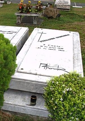 Fernando Amorsolo - Amorsolo's grave in Marikina City