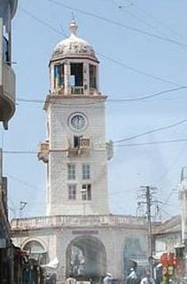 Amreli City in Gujarat, India
