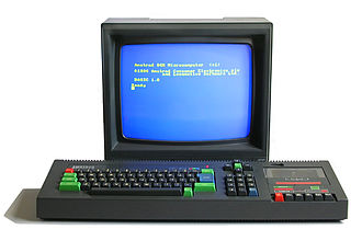 Amstrad CPC - Amstrad CPC 464, with CTM644 colour monitor