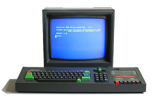 MAY 28 - AMSTRAD CPC 464 - the eye-catching latecomer to the 8-bit scene was a tempting buy.