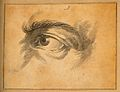 An eye belonging to a musician. Drawing, c. 1794. Wellcome V0009240.jpg